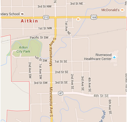 Emergency Care   Riverwood Healthcare Center -Aitkin ... on st. cloud mn map, st. cloud state university map, saint cloud hospital map, cleveland hospital map, hennepin county medical center map,